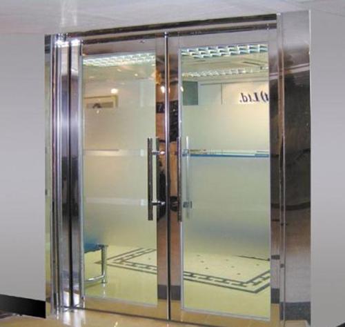 玻璃不锈钢门